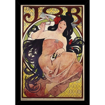 Mucha Job Print With Contemporary Poster Marco (24 X 36)
