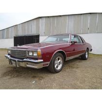 Chevrolet Caprice 1981 Restaurado