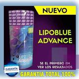 Lipo Blue Advance 30 Pastillas Unisex Quemador De Grasa.
