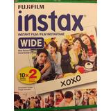 Película Fujifilm Instax Wide