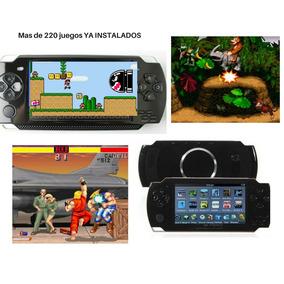 Consola Portatil + De 220 Juegos Clásicos Super Nintendo
