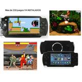 Consola Portatil Retro + 220 Juegos Clasicos Super Nintendo