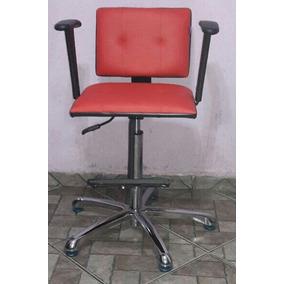 Cadeira Infantil Manual Para Salão De Cabeleireiro