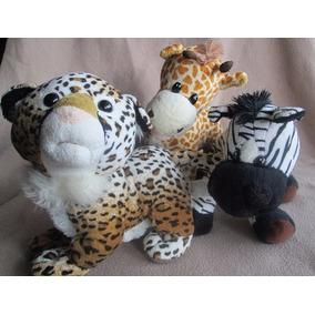 Peluches De Animales Safari. Tigre