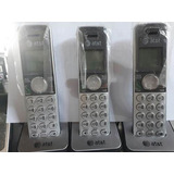 Telefone Sem Fio 4 Bases At & At Modelo Cl82451 Dect