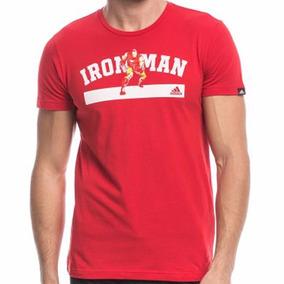 Playera Marvel Avengers Ironman Hombre adidas Ay7187