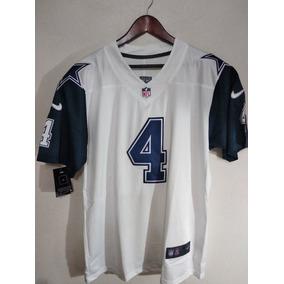 Jersey Dallas Cowboys Blanco Prescott Nfl 4 Envio Gratis cb5c7afd2c4