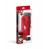 Funda Estuche Super Mario Odyssey Oficial Nintendo Switch