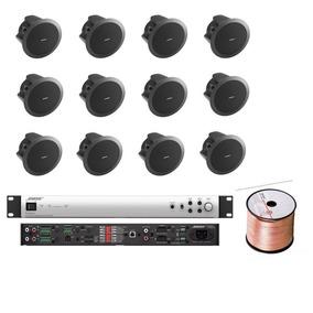 Bose Audio Instalacion 12 Bocinas Ds16f Plafon Amplificador