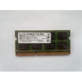 Memoria 4gb Notebook Ddr3 1600mhz Pc3-12800s 2rx8 Smart Novo