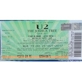Ingresso Show U2 - The Joshua Tree - 25/10 Sp - Pista
