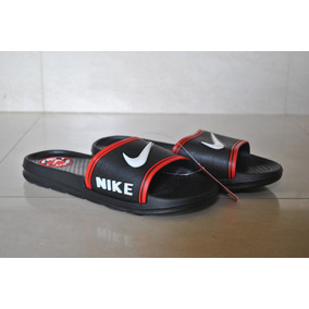 Kp3 Cholas Pantuflas Nike Negro / Rojo Solo Talla 40