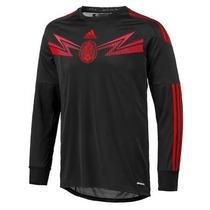 Jersey Adidas Seleccion Mexicana D Futbol 2014 De Portero