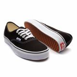 Tenis Vans Authentic Preto/branco - Original