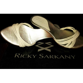 Sandalia Blanca Nº 35-36 Ricky Sarkany