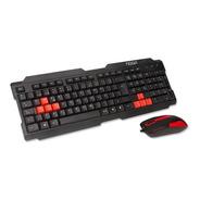 Noganet Nkb-300 Combo Teclado Y Mouse Gamer Stormer Usb Kit
