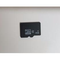 Cartao Micro Sd 4gb Sdhc Produto Novo