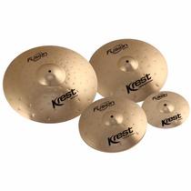 Kit De Pratos Krest Fusion Series Set C/ Bag Luxo - Pt0040