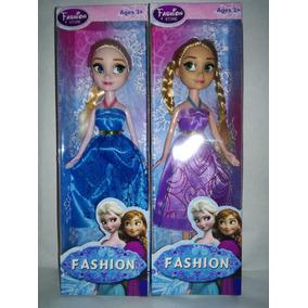 Muñecas Frozen Elsa Y Anna 24 Cms Precio Por Cada Una