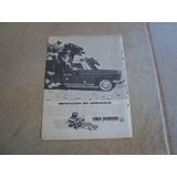 Propaganda Antiga Simca Chambord 1962 X Acordeon Veronese