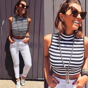 Kit Atacado 10 Peças Cropped Top Blusa Moda Blogueira
