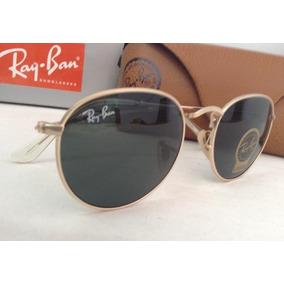 Oculos Rayban Redondo Preto - Óculos De Sol no Mercado Livre Brasil 62a499c3f9