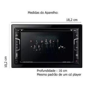 Dvd Multimidia 2din Napoli 7335 Camera Re Gps, Tv, Bluetooth