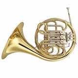 Trompa Yamaha Yhr 567 Laqueada Dourada F Bb Com Case
