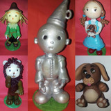 Muñecos De Porcelana Mago De Oz