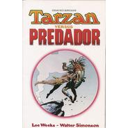 Hq Tarzan Versus Predador (ed. Encadernada, Vol.  1 E 2)