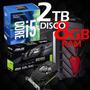 Pc Gamer Intel Corei5 3.0 D.d 2tb + 8ram + Gtx 1050 2gb