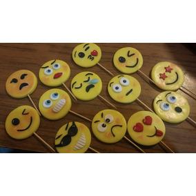 Emoticones Emoji , Pinches Para Gomitas Porcelana Fría