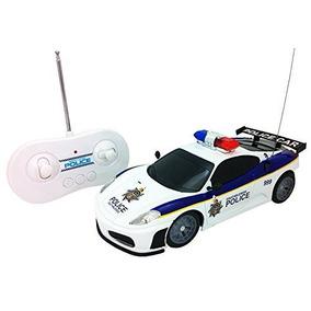 Justicia Policial Equipo Rc Coche De Policía De Escala 1:20