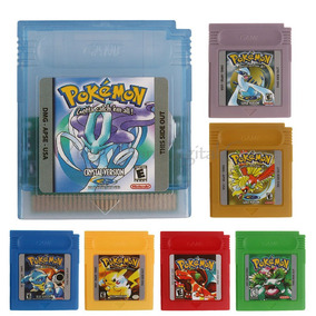 Pokemon Game Boy Cartucho Novo + Frete R$14,00 Todo Brasil