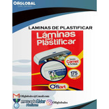 Laminas De Plastificar 175micra / 100und