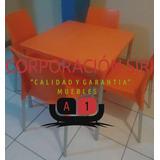 Mesas Para Restaurante Con Tablero De Polipropileno