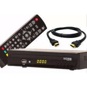 Conversor Receptor Sinal Tv Digital + Smart Tv Web Junto