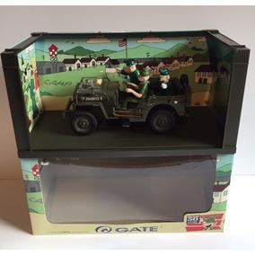 Miniatura Jeep Willys 1:18 Recruta Zero - Intacto Na Caixa !