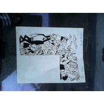 Dibujo Lupin Guerrero, Original