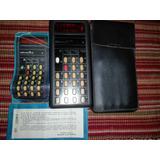 Calculadora Fate Microcifra 4 Vintage En Estuche Con Manual