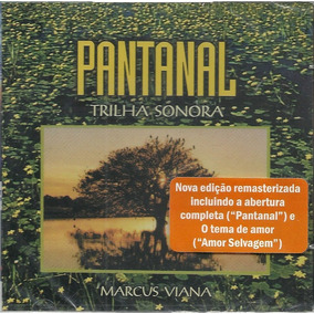 Cd Pantanal - Trilha Sonora - Marcus Viana - Lacrado