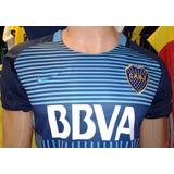 Nueva Camiseta Boca Juniors Alternativa Azul 2018 Para Niños