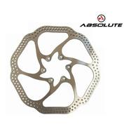 Disco De Freio Absolute Yrt01 Rotor 160mm 6 Parafuso Unidade