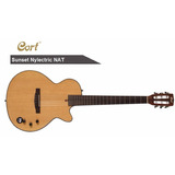 Guitarra Electroacustica Cort Sunset Nylectric Nat