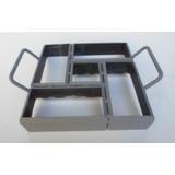 Forma Para Paver,bloquetes,20x10x6cms Cimento,concreto