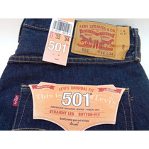 Jeans Levi´s 501 Original Novo Do Tamanho W32 Ao 40 E L34.