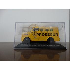 Miniatura Veiculos De Servico - Mb 712e - Carro Forte