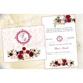 Convites De Casamento Bodas Aniversario 1,00 50 Unidades