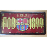 Cartel - Placa De Fbc Barcelona (messi)