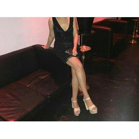 Zapatos Sandalias De Fiesta Nude Talle 37